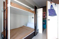 A well-planned one-bedroom unit filled with customized furniture is the ideal home for two students