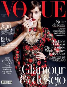Vogue Portugal January 2015   #BarbaraPalvin #Covers2015 #VoguePortugal