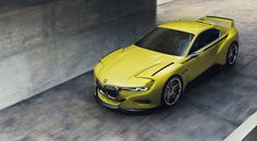 BMW 3.0 CSL Hommage Concept Pays Tribute to 1970s Coupe Design