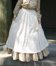 Women's Pioneer Dresses, Blouses, and Skirts