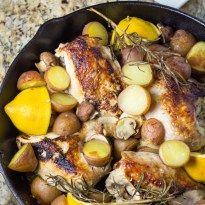 Skillet Chicken Breast with Rosemary & Lemon - Salu Salo Recipes