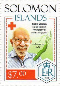 Vanuatu, Commonwealth, Nobel Prize Winners, Solomon Islands, Red Cross, Croissant, Postage Stamps, Famous People, Robin