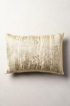 Plaited Metallics Pillow - anthropologie.com