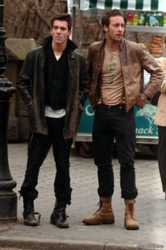 Jonathan Rhys Meyers and Alex O'Loughlin - Brothers in August Rush