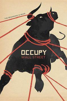 Occupy Wall Street Propaganda Poster