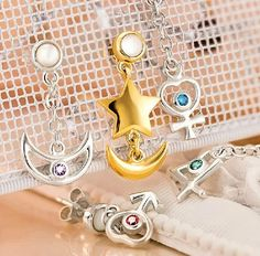 Sailor Moon Earrings #sailormoon #kawaii #anime #earrings #merch #merchandise