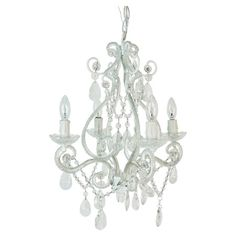 Cast a glamorous glow over your foyer or dining room with this sophisticated chandelier, showcasing a candelabra-inspired silhouette and prism-cut accents.