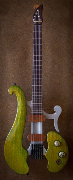 Interesting Instrument: Di Donato Guitar: Khaya mahogany and aluminum