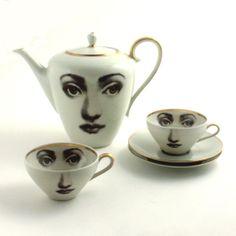Unique Tea Set  Teapot and  2 Cups Altered by MoreThanPorcelain, €85.00