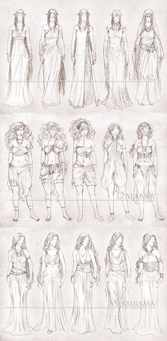Inavesu Clothing - The girls by NadezhdaVasile on deviantART