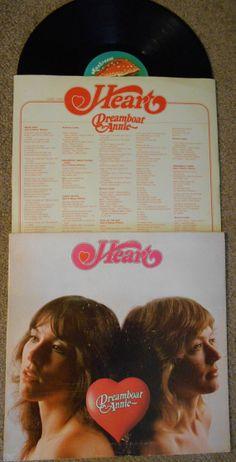Vintage Heart Vinyl LP Record Album by daveandkathysplace27, $5.00