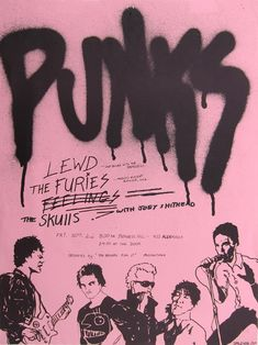 Punk Rock Saturday Night Posters promoting the... - Hold Back Tomorrow