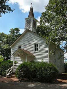 Mt. Pleasant Methodist Church at Tanglewood Park in NC