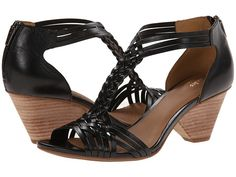 d8d9f906542f8f Clarks Ranae Monique Black Leather - Zappos.com Free Shipping BOTH Ways On  Shoes