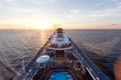 The view from the North Star of Anthem of the Seas; Courtesy of Erica Silverstein/Cruise Critic