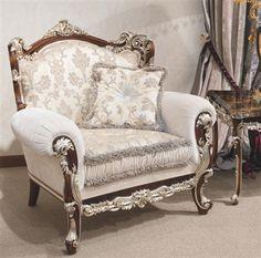 Empire stílusú kanapé. Kézzel készített Európában.