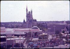 Magic Kingdom, Walt Disney World, August 1972.