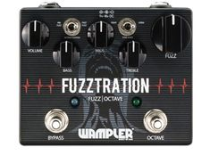 Buy your Wampler Fuzztration Octave/Fuzz Guitar Effects Pedal from Sam Ash and receive the guaranteed lowest price. Guitar Effects Pedals, Guitar Pedals, Wall Of Sound, How To Memorize Things, Things To Come, Pre And Post, Wood Bridge, Before Us, Fuzz