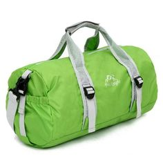 Women /& Men Foldable Travel Duffel Bag Green Clever Monkey For Luggage Gym Sports