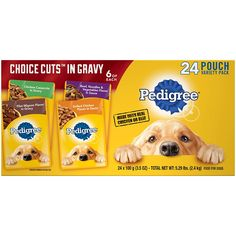 Pedigree Choice Cuts Adult Dog Wet Food Variety Pack – with Filet Mignon, Grilled Chicken, Chicken Casserole, and Beef Noodle, Ounce Pouches -- Check this awesome product by going to the link at the image. (This is an affiliate link) Beef Noodle Casserole, Chicken Casserole, Vegetable Noodles, Beef And Noodles, Pedigree Dog Food, Animal Pound, Dog Storage, Wet Dog Food, Pet Food