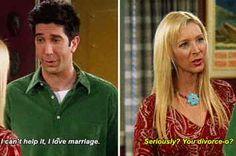 """18 Times Phoebe Cancelled Ross's Entire Existence On """"Friends"""""""