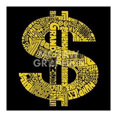 Dollar Sign (Slang terms for Money)