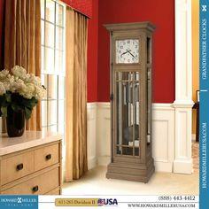 New Style Genuine Howard Miller Grandfather Clock Door Key and Winding Crank
