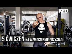5 ćwiczeń na wzmocnienie siadu - KFD - YouTube