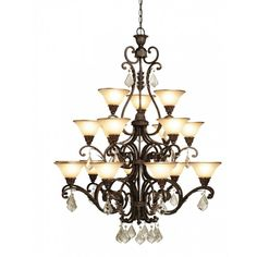 Chandelier by Artcraft #lighting