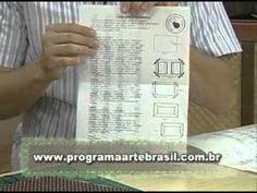 ARTE BRASIL -- CLAUDIA WADA -- CARTEIRA EM CARTONAGEM (11/03/2011 - Part... Claudia Wada, Crafts, Craft Videos, Pencil Cases, Diy And Crafts, Coin Wallet, Wallets, Boxes, Cartonnage