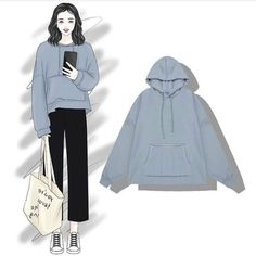 Trendy How To Design Clothes Sketches Ideas Ulzzang Fashion, Hijab Fashion, Fashion Dresses, Look Fashion, Fashion Art, Girl Fashion, Dress Sketches, Pinterest Fashion, Fashion Design Sketches