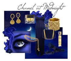 """Chanel at Midnight"" by wildorchid21-1 ❤ liked on Polyvore featuring Chanel"