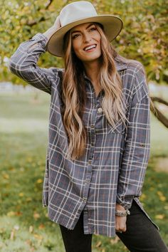 ee92f89d761d 8 Best Oversized Flannel images