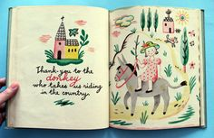 The Thank-You Book by Françoise, 1947.