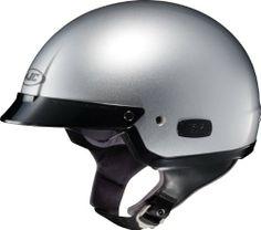 HJC IS-2 Metallic Silver Open-Face Motorcycle Helmet IS2 Size 2X-Large  #HJCHelmets #AutomotivePartsAndAccessories