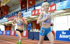 Two World Records Fall at Armory NYC Indoor Marathon Runners endured 211 laps on the indoor oval and took home bonuses for setting new world bests