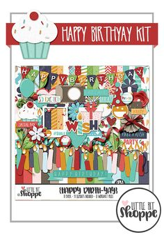 Happy BirthYAY Kit From Little Bit Shoppe