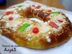 Roscón de reyes tradicional de Asyut