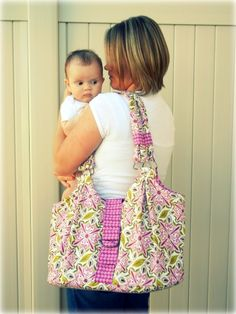Mama Mia diaper bag....hmmmm might be a project of mine in the future!!