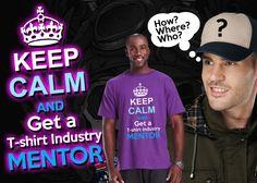 Keep Calm and get a t-shirt printing industry mentor Wholesale Hoodies, Tshirt Business, Bandana, South Africa, Printing, Calm, Mens Tops, T Shirt, Women