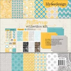 """Buttercup Collection Kit 12""""X12"""""""