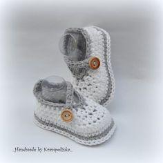 UniBella Baby Shoes – Krampolinka - Free Crochet Pattern and Video Tutorial