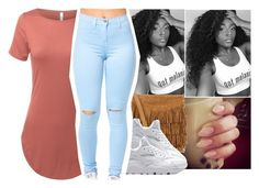 """""""Untitled #529"""" by oh-thatasia ❤ liked on Polyvore featuring Polo Ralph Lauren and NIKE"""