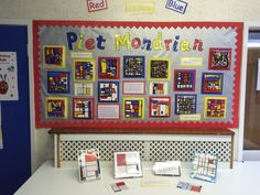 Art Club Year 2 Mondrian paintings on canvas. Watching the children focus and work so hard was something else. Fantastic!