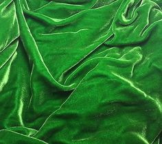 "This is our luscious silk/rayon velvet fabric. We sell by the yard, so let us know the how many you need in the ""Quantity"" field before submitting your order. All yardage will be one continuous piece"