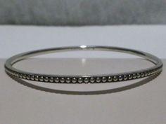 Brand New Womens Lagos Sterling Silver Bangle Bracelet | eBay