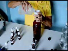 Como fazer perfume sem álcool refrescante - YouTube