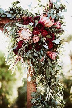 Bohemian bruiloft veldbloemen