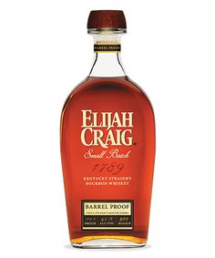 Elijah Craig Small Batch Barrel Proof is one of the Best Bourbons for 2019 Good Whiskey Brands, Bourbon Whiskey Brands, Bourbon Drinks, Scotch Whiskey, Manly Cocktails, Bourbon Liquor, Irish Whiskey, Single Barrel Bourbon, Small Batch Bourbon