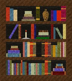 (7) Name: 'Quilting : Bookshelf Quilt